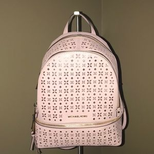 Michael Kors pink backpack